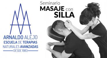 ARNALDO ALEJO - SEMINARIO MASAJE CON SILLA
