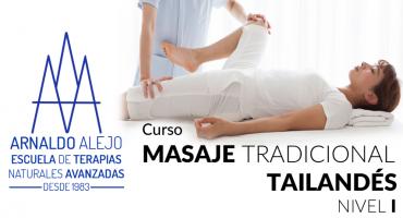 ARNALDO ALEJO - CURSO MASAJE TRADICIONAL TAILANDÉS 1