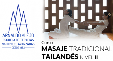 ARNALDO ALEJO - CURSO MASAJE TRADICIONAL TAILANDÉS 2