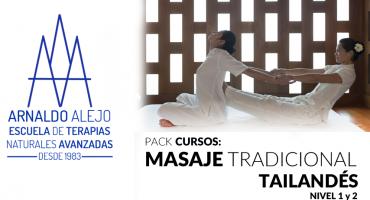 ARNALDO ALEJO - PACK CURSOS MASAJE TRADICIONAL TAILANDÉS 1 y 2