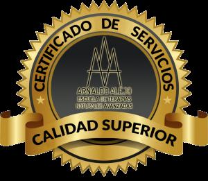 SELLO CERTIFICADO CALIDAD SERVICIOS